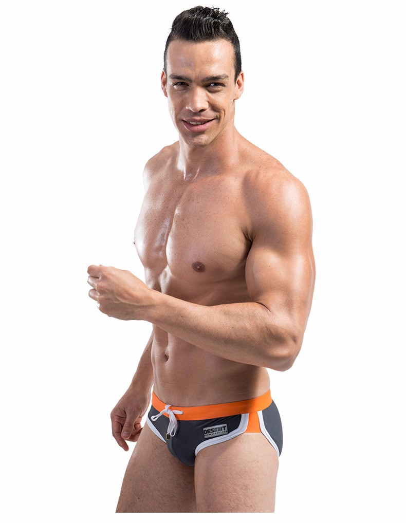 Topdudes.com - Men's Sexy Summer Beach Swimming Briefs