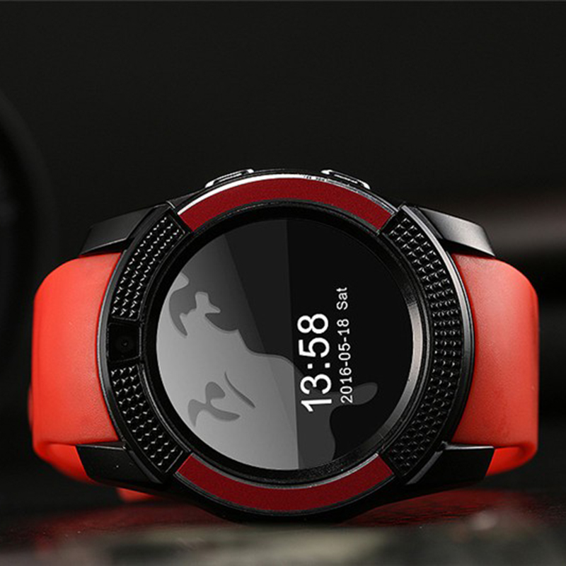 Fashion Q7 Passometer Smart watch with Touch Screen camera TF card Bluetooth smartwatch for Android Phone