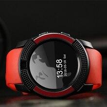 Модные Q7 Шагомер Смарт часы с Сенсорный экран камера TF карта Bluetooth SmartWatch для Android телефон Русский часы