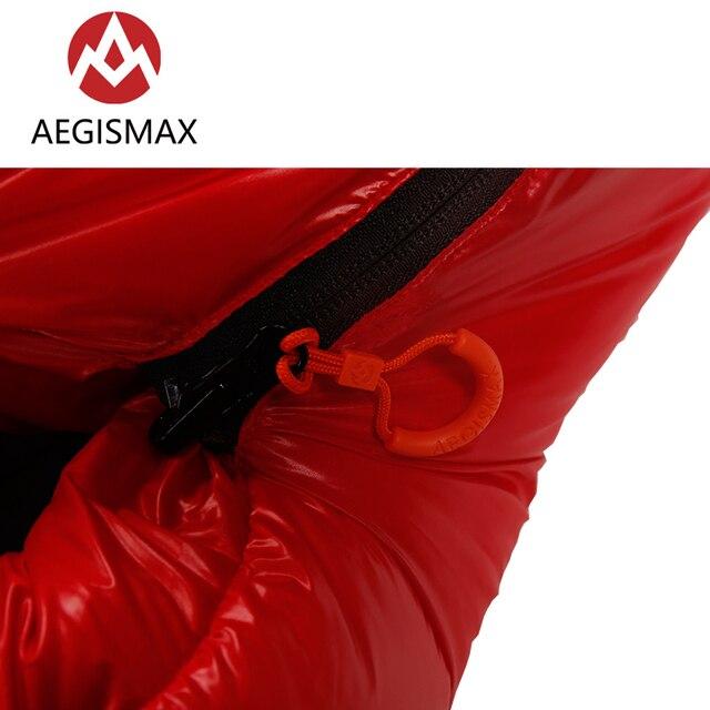 Aegismax C500 C700 90% White Duck Down Sleeping Bag 650FP 3
