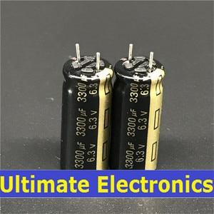 Image 2 - 10pcs 3300uF 6.3V FJ Series 10x25mm Low ESR 6.3V3300uF Motherboard Capacitor