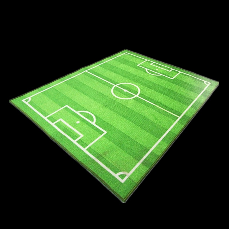 Baby Football Carpet On The Floor Mats Rugs And Carpets Modern Area Rug For Home Living