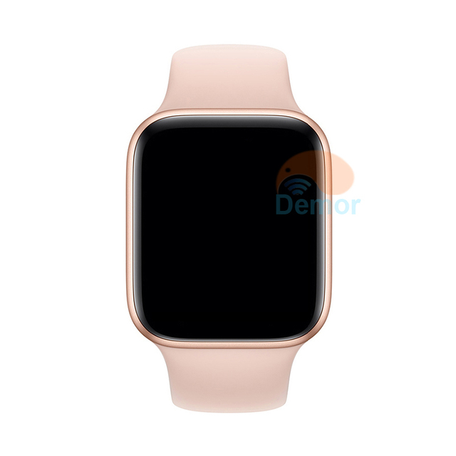 DEMOR IWO 9 Smart Watch Series 4 44mm Connected GPS Sport Heart Rate Monitor Smartwatch for iOS