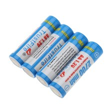 4pcs/lot TrustFire AA 2700mAh 1.2V Rechargeable Ni-MH Battery Batteries With Package Box For Toy/Flashlight/Remote Control