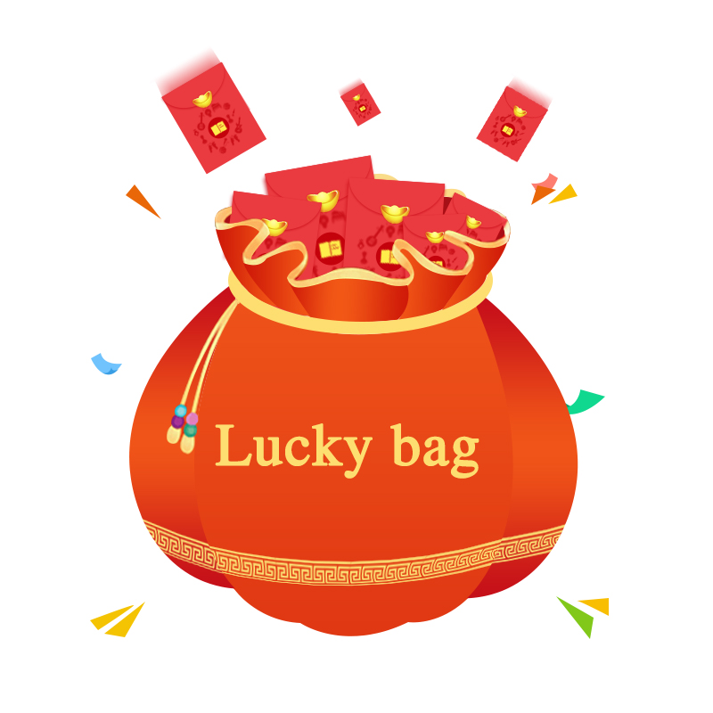 Lucky Bag For Nature Jewelry Ring Surprise Gift Send By Random