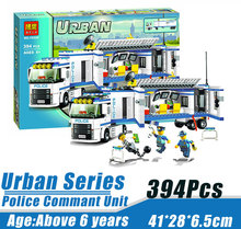 Bela 10420 Urban City Police Police Commant Unit Minifigures Building Block Minifigure Toys Compatible with Legoe