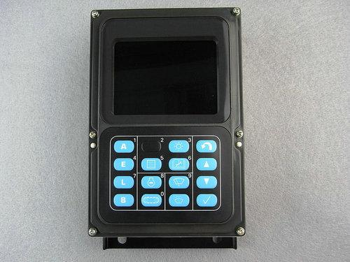 Free shipping Excavator monitor 7835 12 3007 display screen apply to Komatsu PC200 7 PC210 7K PC300 7 PC400 7 excavator parts in Interior Mouldings from Automobiles Motorcycles