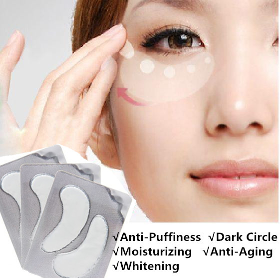 2PCs/set Eye Mask Remove the black eye ring face care whey protein collagen sleep sleeping tools for eyes M55-YM