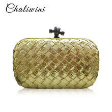 2893a77bf05 Chaliwini PU Ribbon Women Clutches Evening Bags Candy Small Day Handbags  Party Female Wedding Purses And Handbags Shoulder Bag