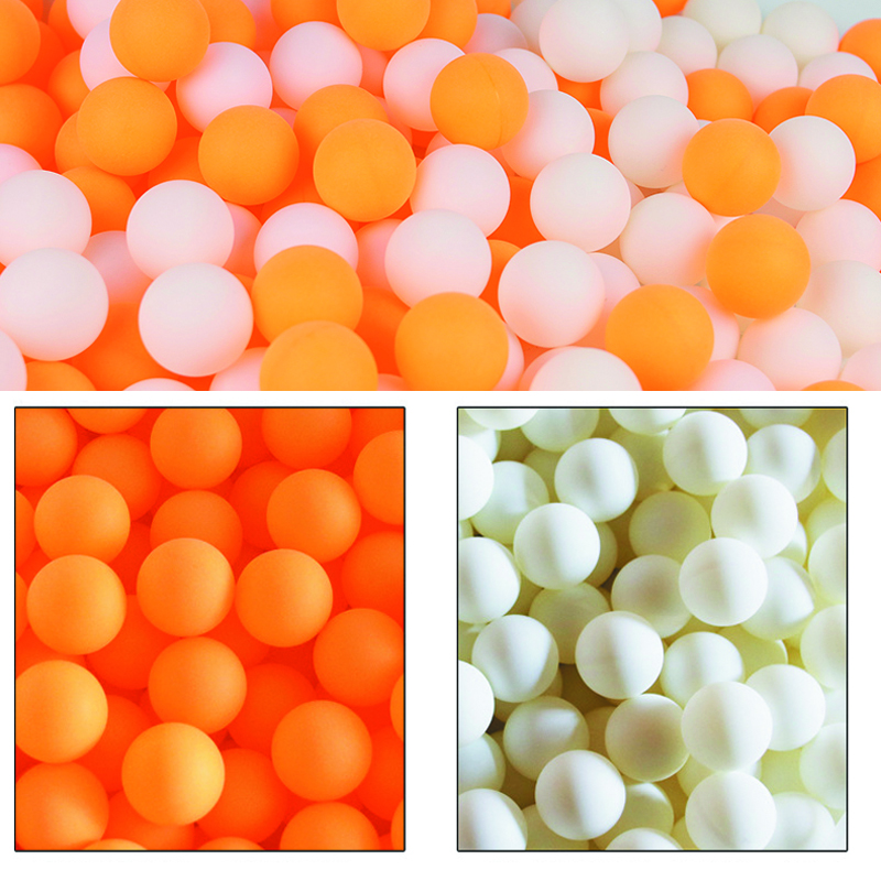 50 Teile/paket 40 + Neue Material Nahtlose Tischtennis Ball 3 Star Neue Material Professionelle Trainning Ping Pong Bälle Keine Logo Gedruckt