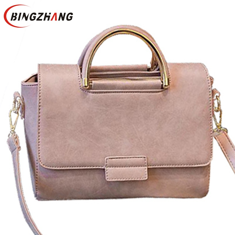 2017 New Arrive Women All-match Bag Fashion Nubuck Handbag High Quality Medium Shoulder Bag Winter Women Messenger Bag L4-2525  new arrive women leather bag fashion zipper handbag high quality medium solid shoulder bag summer women messenger bag