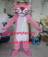 Sommer heißer verkauf!! Neue Erwachsene Rosa Panther maskottchen kostüm mit anzüge schuhe hände phantasie party kleid Halloween kostüm