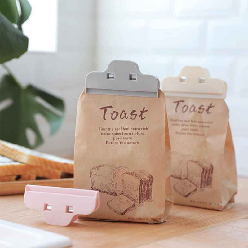 Durable Food Bag Clip Plastic Milk Powder Tea Snack Bag Sealing Clip Kitchen Storage Organization Supplies