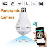 360 Panora mi c Lampe Licht mi ni Kamera Espia Oculta IP Home Security CCTV Monitor Wifi Gizli Kamera Smart mi Ni mi cro Cam