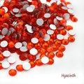 Super Brillante SS3-SS34 Glitter hyacinth Opal Color 3D Nail Art Decoraciones Flatback Hotfix Strass Piedras