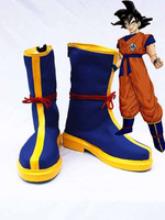 Dragon Ball Son Goku Cosplay Shoes Boots For Adult Men's Halloween Party Cosplay Boots Custom Made