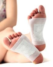 30 copë Kinoki Detox Këmba e këmbëve Patch Kujdesi për këmbët Masazhe për trupin Bamboo Bimë suvaje Plaster Relief Ndihmoni Gjumin e Kujdesit Shëndetësor D1213