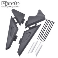 BJMOTO Motorcycle Upper Frame Infill Side Panel Set Guard Protector For BMW R1200GS LC R1200 GS