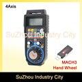 Neue ankunft! CNC USB MACH3 Drahtlose Handrad 4 Achsen MPG Manuelle Usb-empfänger 40 meter übertragungs-distanzen ohne hindernis