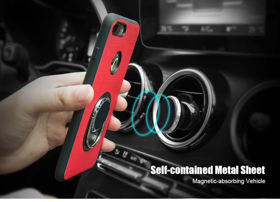 Soft Magnetic i 7 6 6S Plus 5 5S Phone Case For iPhone 7 6 6S Plus 5 5S SE 5G Case Luxury 360 Ring Holder For iPhone 7 6 Cover (6)