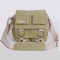 Bolso de la Cámara Nacional Geographic NG2345 bolsa de lona de alta calidad de viaje de hombro DSLR mochila de la cámara multifuncional bolsas de la cámara