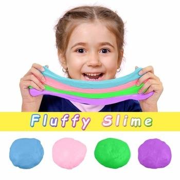 80ml Fluffy Slime Supplies Toys Putty Soft Clay Light Plasticine Playdough Lizun Slime Charms Gum Polymer Clay Antistress 1