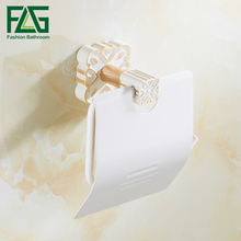 flg gold flower paper holders white ceramic support for paper holder roll wallmounted toilet paper holder bathroom accessories