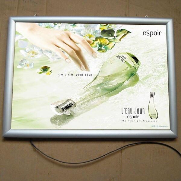 Snap Cadre Led Boîte à Lumière Avec Acrylique Affiche Pour Argent Affiche  Cadres Led Boîte à