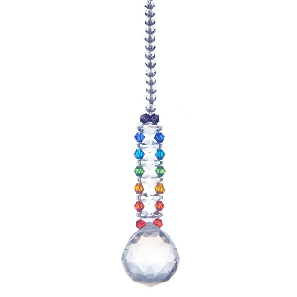 Crystal Chandelier Pendants Parts: 30mm Colorful Lighting Ball Accessories Pendants Home