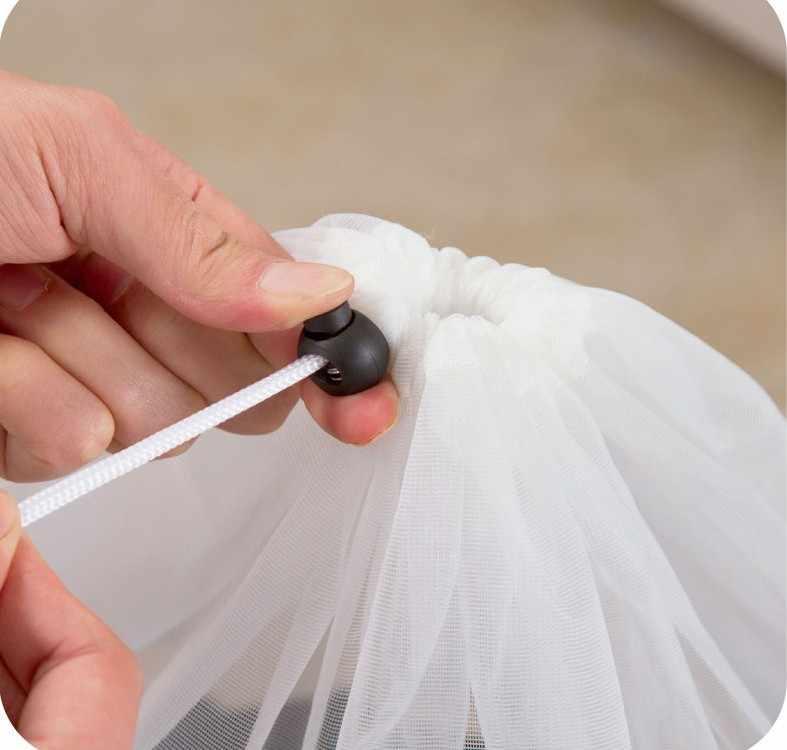 3 tamanho Rede de Proteção saco de Roupa Cuidados Com a Roupa saco de Lavagem Dobrável Underwear Bra Meias Roupa Interior do Filtro Máquina de Lavar Roupa