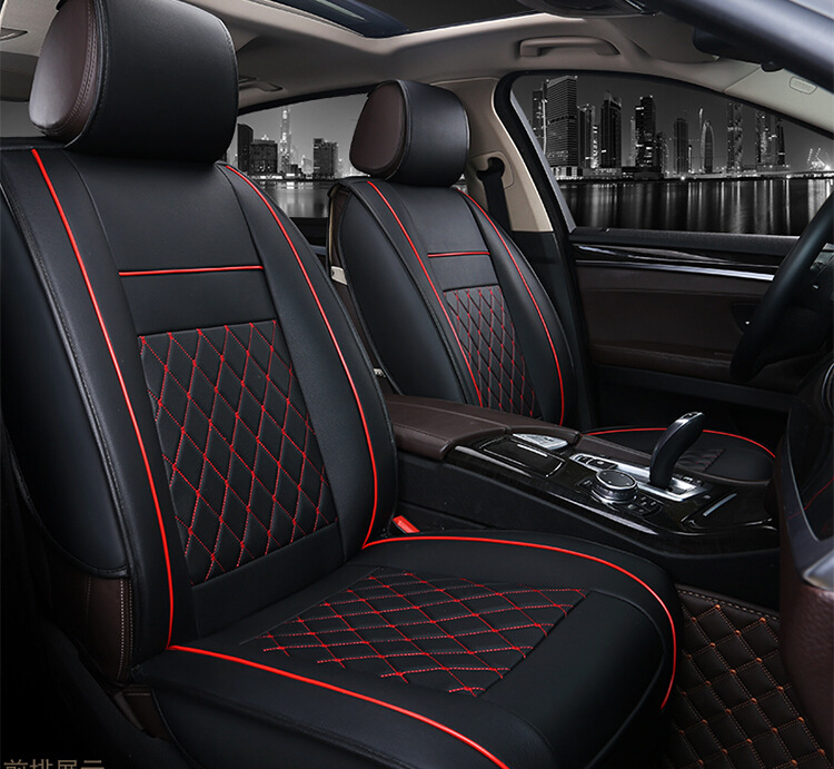 Car Seats Cover Set Seat Custom Pu Leather Decorative Cushions In Automobiles Covers From Motorcycles On Aliexpress