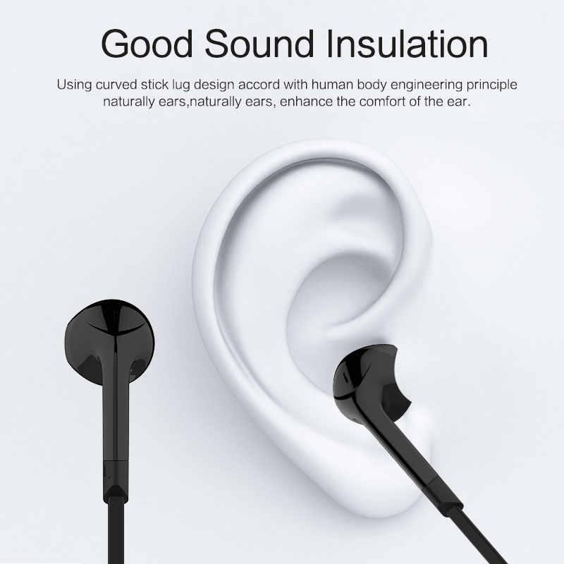 Langsdom słuchawki BL6 słuchawki bezprzewodowe Bluetooth słuchawki sportowe auriculares zestaw słuchawkowy do telefonu pół douszne słuchawka Bluetooth