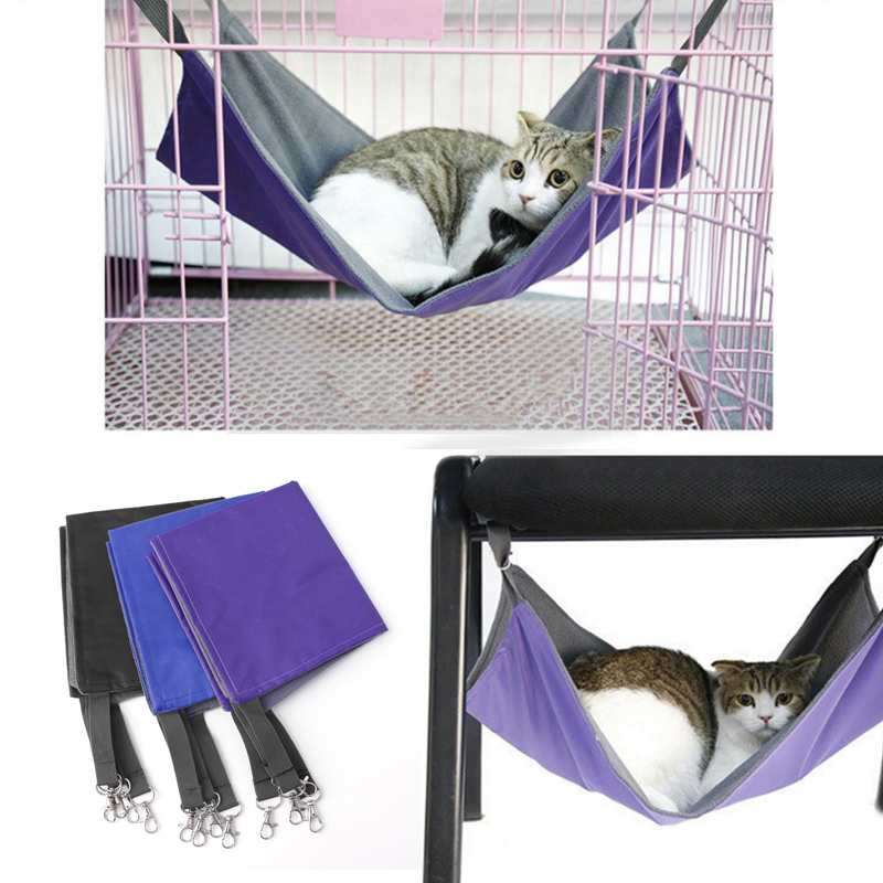 cat hammock bed hanging soft pet bed use with crate cage or chair for kitten in furniture  u0026 scratchers from home  u0026 garden on aliexpress     alibaba group cat hammock bed hanging soft pet bed use with crate cage or chair      rh   aliexpress