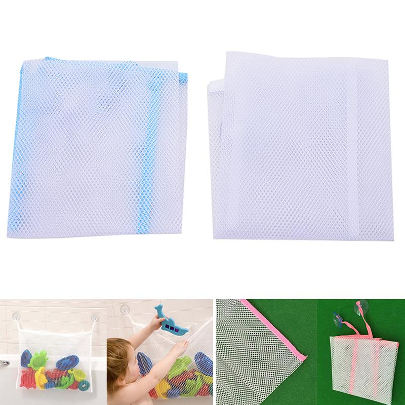 1PCS Folding Eco Friendly Toys Bags Baby Bathroom Mesh Bath Toys Bag ...