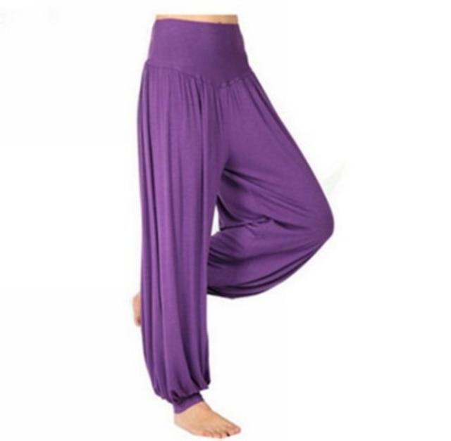 femmes pantalons de yoga comft lâche un pantalon indien lanterne sarouel  pantalon de danse