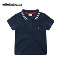 Summer Boy Short Sleeve Cotton Polo Shirts Kids Children Boys Polo Tee Tops Shirt
