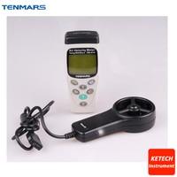 Handheld Air Velocity Meter with Atmospheric Pressure Sensor TM 414