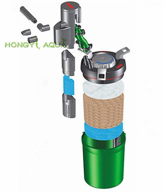 1 piece EHEIM Aquarium Filter Fish Tank Water Purifier - External Wall-Mounted Filter  6