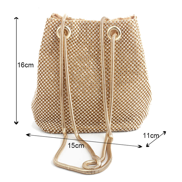 clutch evening bag luxury women bag shoulder handbags diamond bags lady wedding party pouch small bag satin totes bolsa feminina 4