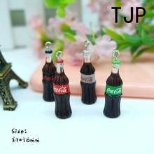 Kawaii cola Charms Pendants for DIY decoration bracelets necklace earring key chain Jewelry Making(China)