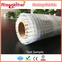 GALAXY Under Tile Heating Mat Kits Twin Conductor Electric Heating Mat Sample 1m2 With Thermostat Free