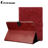 Civetman Gold Crazy Horse Smart Case Voor iPad Air & ipad 5 Cover Stand Tablet boeken case Designer Leather Cover Voor Apple ipad 5