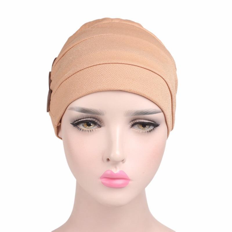 Neue drei holz schnalle stirnband Schal Kappe Chemotherapie Hat ...