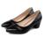 2017 Pequeño Tamaño 31-39 Blanco de Charol Sexy Tacones Altos Mujeres Bombas Zapatos de Mujer Chaussure Femme Negro rojo Opcional
