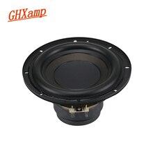 GHXAMP 7 zoll Subwoofer Lautsprecher Einheit 4ohm 100W Super Bass Dual magnetische Lange Hub 188mm Louspeakers Breite Gummi rand 1pc