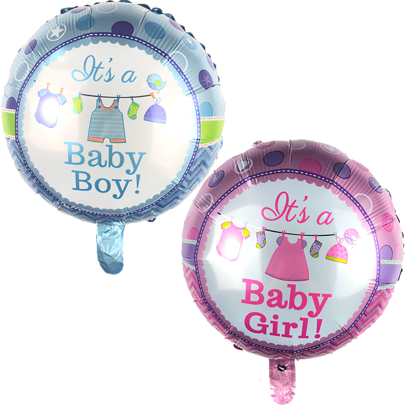 Festive & Party Supplies Fast Deliver 50pcs Birthday Balloons Its A Boy & Its A Girl Baby Shower Ballons Kids Toys Gender Reveal Party Decor Supplies Childrens Day