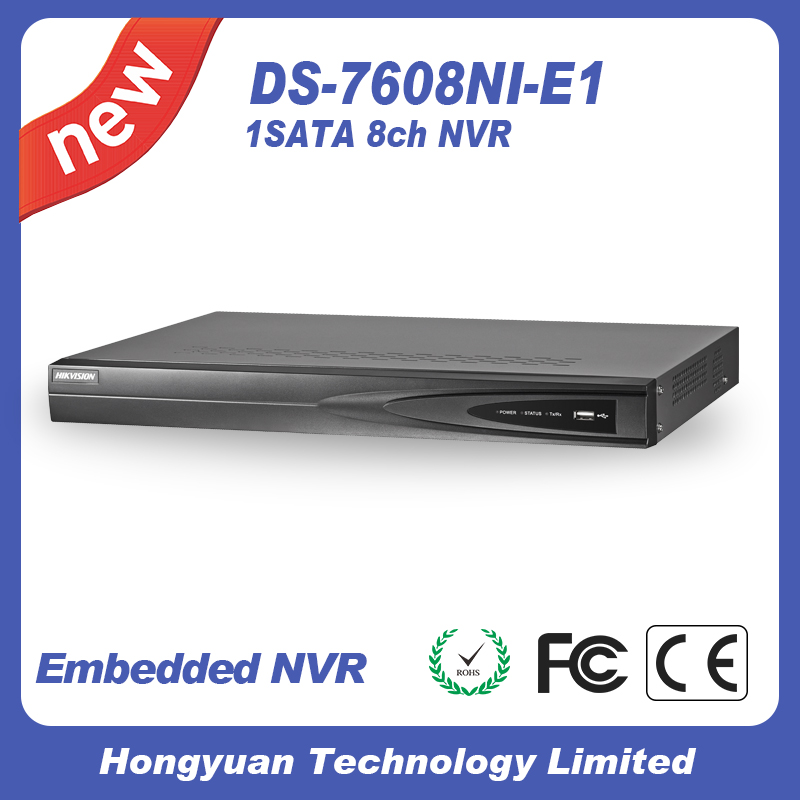 hikvision DS-7608NI-E1 Turbo HD DVR English original oversea