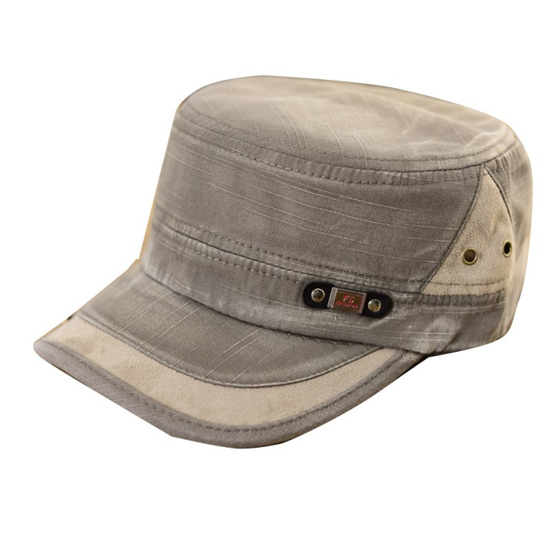 New Classic Men Women Adjustable Army Plain Vintage Hat Cadet Baseball Cap