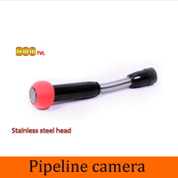 1 PCS Pipe Inspection Well Endoscope Underwater Camera Only Waterproof CCTV System Accessories Night Version