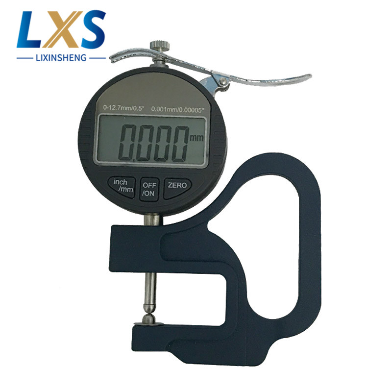 0 12mm Digital Display Microns Thickness Gauge BY05 Micrometer Thickness Meter For Foam in Tool Parts from Tools